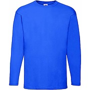 Fruit of the loom valueweight long sleeve top...