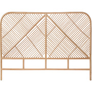 Ngaju - tête de lit en rotin 148cm