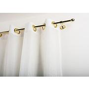 Tringle à rideaux: Ø 20 mm sans anneaux, l. 440...