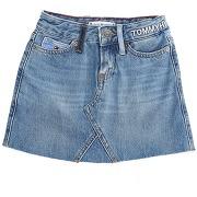 Jupe en jean tommy hilfiger fille. bleu. 4...