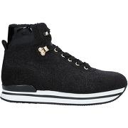 Sneakers & tennis montantes hogan femme. noir....