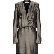 Robe courte saint laurent femme. bronze. 42...
