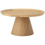 Luana - table basse ronde en chêne ø74cm