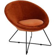 Garbo - fauteuil en velours