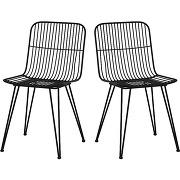 Ombra - 2 chaises design en métal
