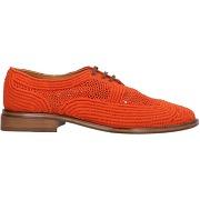 Chaussures à lacets clergerie femme. rouille....