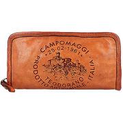Campomaggi porte-monnaie cuir 20 cm cognac...
