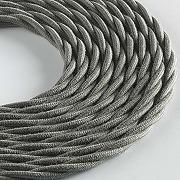 Klartext lumiÈre câble textile tressé pour...