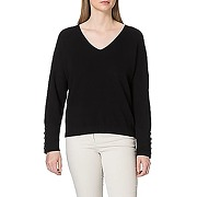 Morgan pull col v boutons manches mien sweater,...