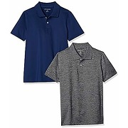 Amazon essentials performance polo (2 pack),...