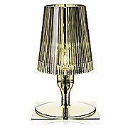 Kartell take, lampe de table, olive verte