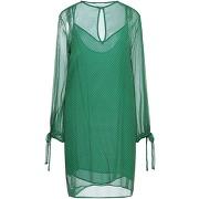 Robe courte ..,merci femme. vert. 40 livraison...