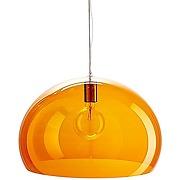 Kartell small fl/y, lampe à suspension, orange