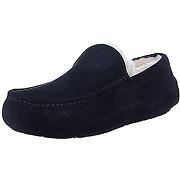 Ugg homme ascot slip on slipper, noir, 42 eu