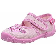 Beck darling, chaussons bas fille rose (rosa...
