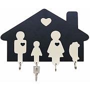 Dekohelden24 rw1000 plaque porte-clés en bois,...
