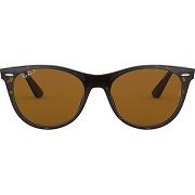 Ray-ban lunettes de soleil wayfarer ii - marron