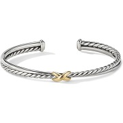 David yurman bracelet torque en or 18ct - argent