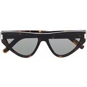 Saint laurent lunettes de soleil sl 438 - marron