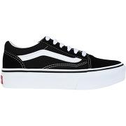 Old skool platform sneakers vans fille. noir....