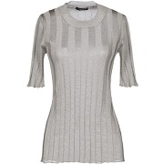 Pullover roberto collina femme. gris. s...
