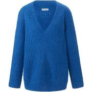 Le pull avec décolleté v portray berlin bleu...
