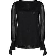 Karl x carine silk blouse blouse karl lagerfeld...