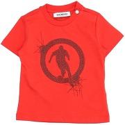 T-shirt bikkembergs garçon. rouge. 6 livraison...