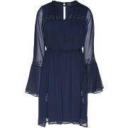 Robe courte 8 by yoox femme. bleu foncé. 34...