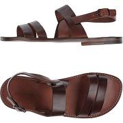Sandales l'artigiano del cuoio homme. chocolat....