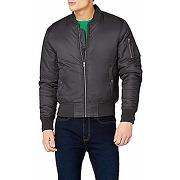Urban classics basic bomber jacket homme, gris...