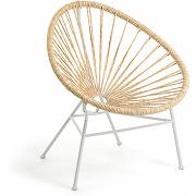 Abeleira - 2 fauteuils de jardin en résine