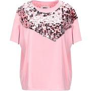 T-shirt mm6 maison margiela femme. vieux rose....
