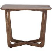 Rine - console carrée en bois 90cm