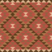 Tableau the fourth patchwork ethnicia 60 x 60