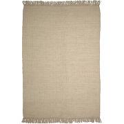 Siria - tapis à franges en fibres naturelles