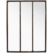 Léon - miroir verrière style industriel 90x120