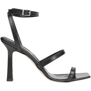 Leather square toe thong sandal 90 tongs 8 by...