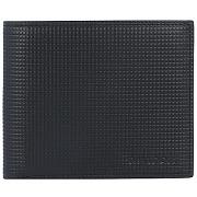 Davidoff paris portemonnaie cuir 11,5 cm noir