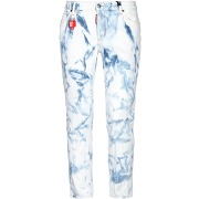 Pantalon en jean dsquared2 femme. blanc. 36...