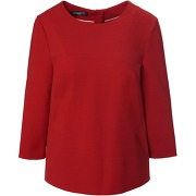 La blouse manches 3/4 fadenmeister berlin rouge...