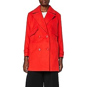 Marque amazon - find. caban femme, rouge (red),...