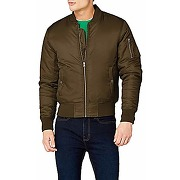 Urban classics basic bomber jacket homme, vert...