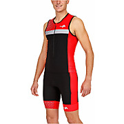Haut textile triathlon sans manches kiwami...