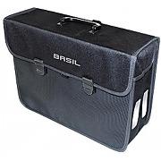 Sacoche de porte bagage basil malaga noir 17