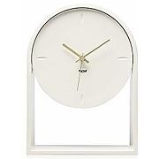 Kartell air du temps, horloge de table, blanc