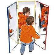 Henbea 790 miroir tryptique, plastique,...