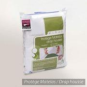 Protege matelas impermeable arnaud - blanc -...