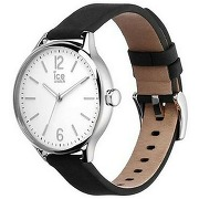 Montre femme - ice time - black silver