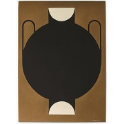 The poster club, silhouette of a vase 11,...